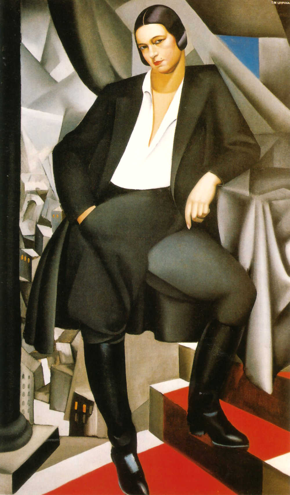 Tamara de Lempicka, portrait of the duchess of La Salle