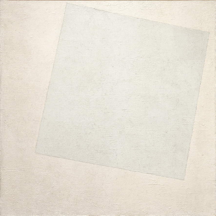 Kazimir Malevitsj, white on white